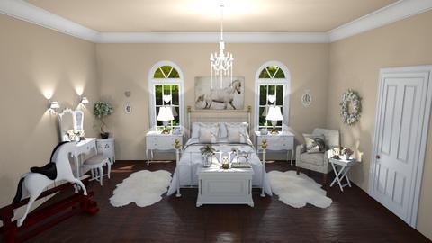 horse lovers bedroom - by aj cassa