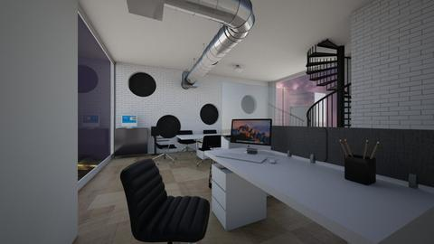 Office Stormy - Modern - by thingamabobs