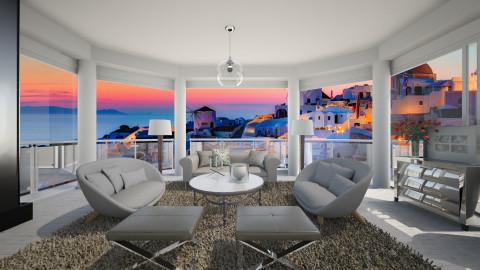 Santorini - Classic - Living room  - by Lucii