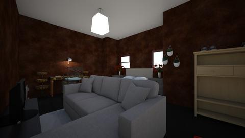 attic bedroom - Bedroom  - by yannick23