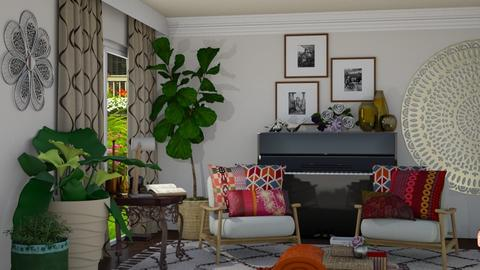 bohemian - Eclectic - Living room  - by snjeskasmjeska