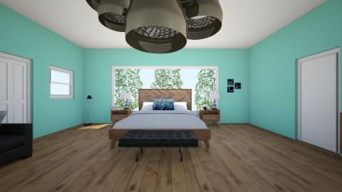 Simple Bedroom 3 - Bedroom - by mistrettaj23ipad
