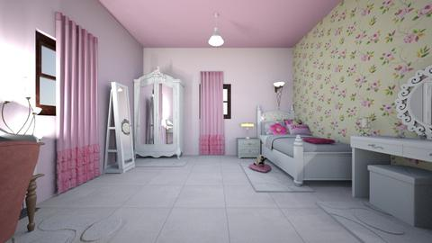 kawthar - Vintage - Bedroom  - by LeiRech