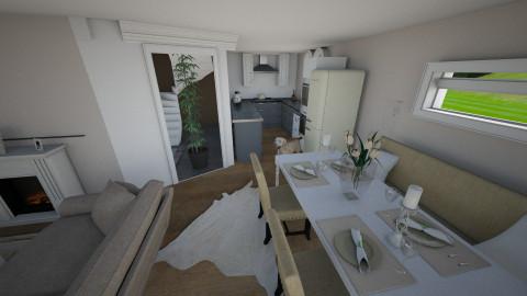 EG - Retro - Living room - by caiine
