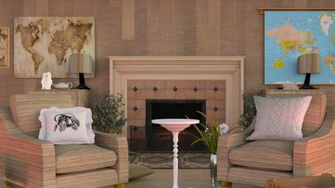 Travel Living Room - Modern - Living room  - by MB2006