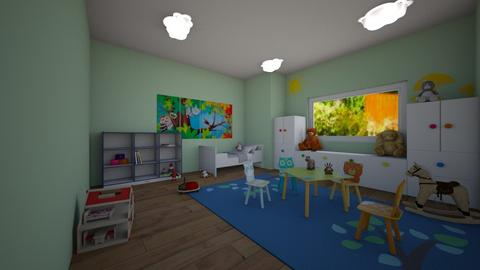 Forest - Kids room  - by miah