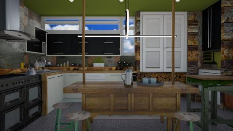 Bespoke  - Eclectic - Kitchen  - by Tree Nut