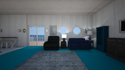 Nautical Home - Living room  - by mspence03