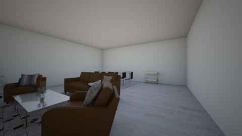 Snowy Christmas Morning  - Modern - Living room  - by PHBNINI