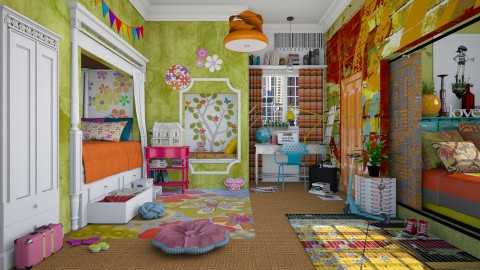 Common Core - Eclectic - Kids room - by starsector
