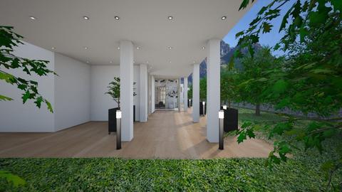 Glamour_house2 - Garden  - by lovasemoke