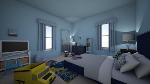 Boy kinds room - Modern - Bedroom  - by 0194718