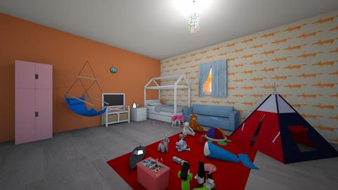 Kids Bedroom Contest - Bedroom  - by Noa Jones