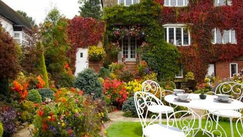 cottage - Garden - by Polevik Evgenia