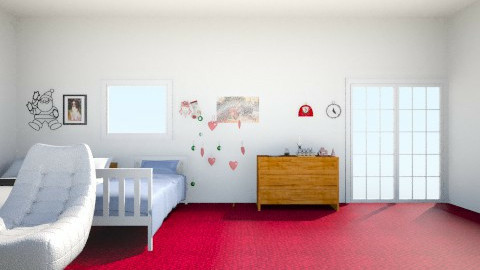 Areks Apartment Christmas - Glamour - Living room - by arekwarren5