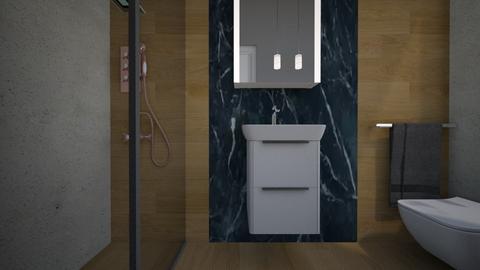 Cologno bagno ospiti13 - Bathroom - by natanibelung