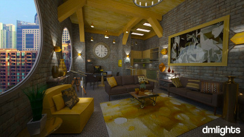 Heathers Loft - Eclectic - by Lackew