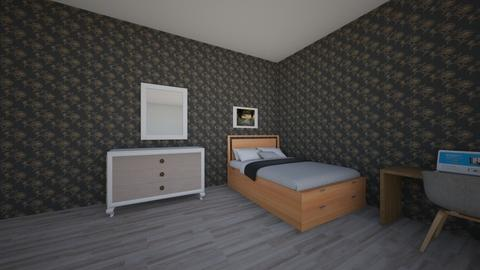 collage room - Bedroom  - by horseeve