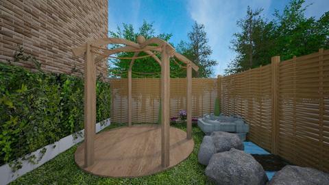 yoga garden - Garden  - by iveto3131