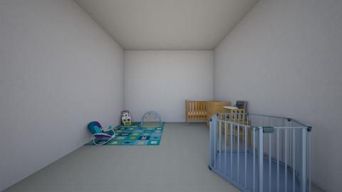 cute BR - Minimal - Kids room  - by h347