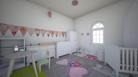 girlroom - Modern - Kids room  - by Stephanie Felix