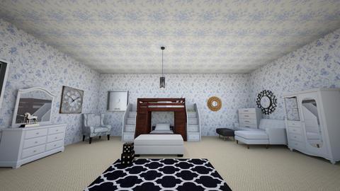 Teens Bedroom design - Bedroom - by sbushra12