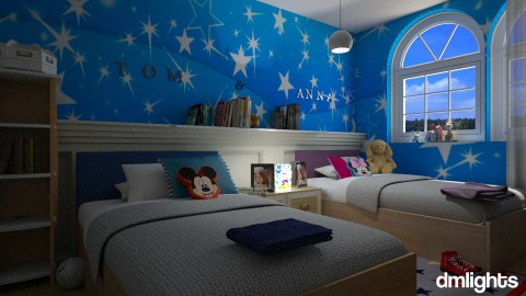 Mickey mouse room 2L - Kids room - by DMLights-user-1545584
