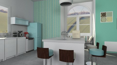 Modern kitchen - Modern - Kitchen  - by Sotiria Oups