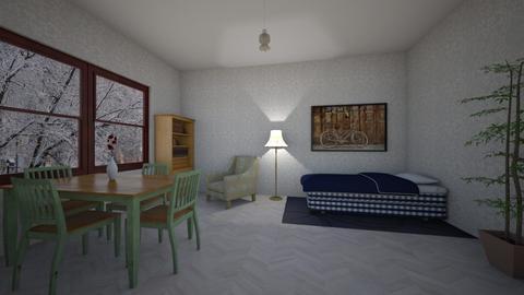 Vintage - Retro - Living room - by Twerka