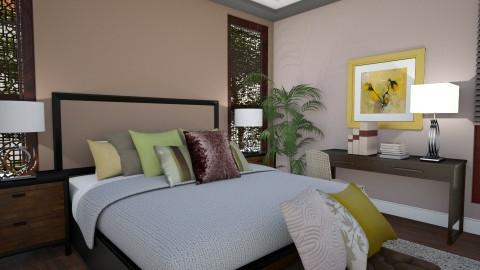 Bali Masterbedroom 1 - Vintage - Bedroom  - by Ejad Shukri