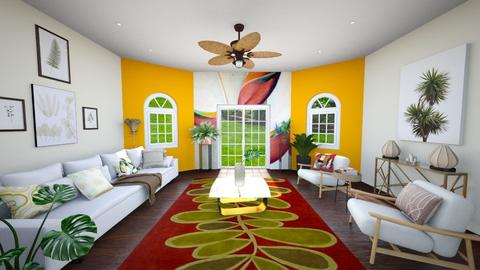 Living with Keeffe - Living room - by disa