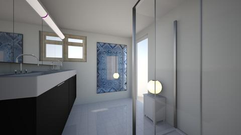 Master Bathroom 1 - Modern - Bathroom  - by JeffWhitcomb0747