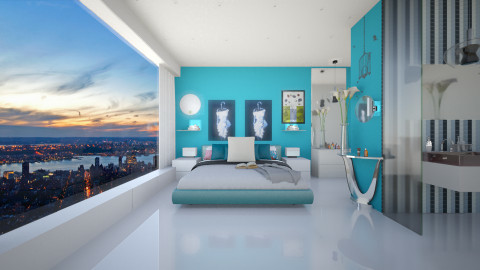 dream away  - Modern - Bedroom  - by Evangeline_The_Unicorn