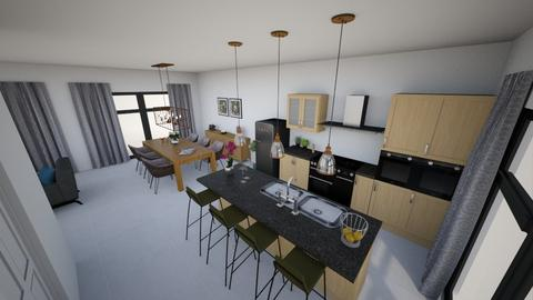 Living_Houterstraat - Living room  - by IrisHerberghs