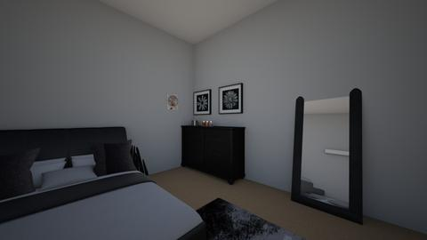 Riter Bedroom - Minimal - Bedroom - by melhonore