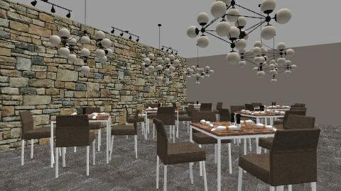 restaurant - Rustic - by creativity316