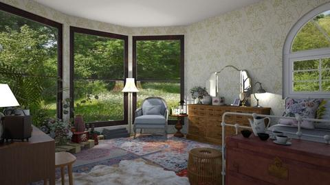 cottagecore - Vintage - Bedroom  - by imagine a world like dat