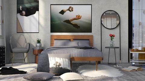 Desolate - Modern - Bedroom  - by eevmo