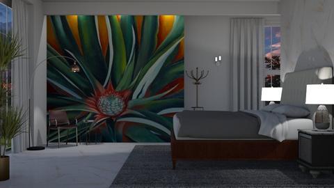 O'Keeffe Bedroom - Bedroom - by JayPH