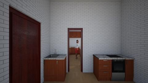 3 - Kitchen  - by Mahla Ahmadi79