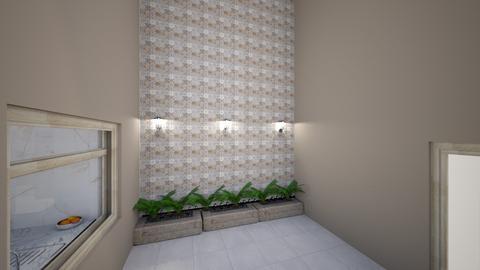 muro claro - Garden  - by Claudia Servin leyva