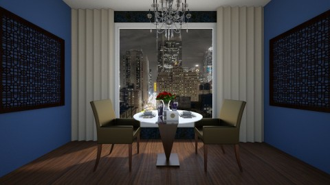 Dinner Date - Glamour - Dining room - by Abracadabra