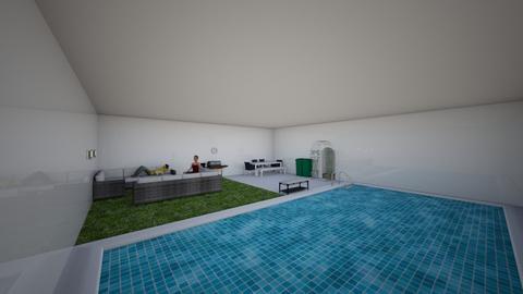 indoor garden_pool room  - by 1D wolfgal