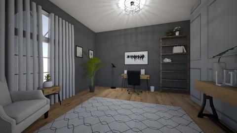 Modern office - Office - by elizabethwatt16