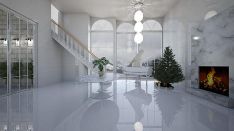 Christmas  - Living room - by belle alderton