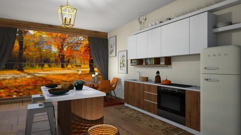 Autumn Kitchen  - Kitchen  - by SouthernDeco
