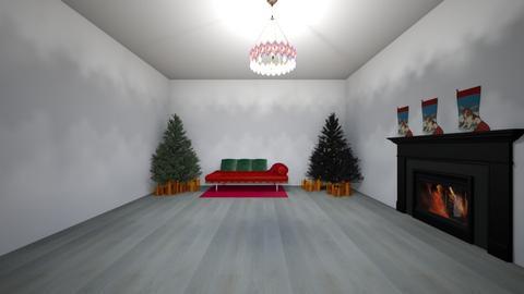 Christmas living room - Living room  - by Spy girl 43556