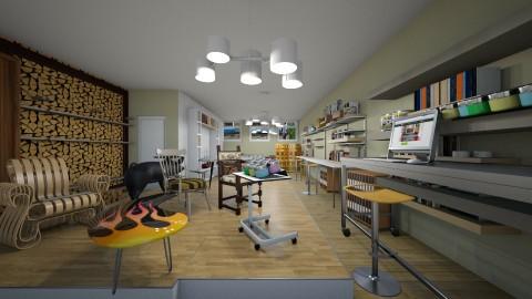 Souterrain Studio wood workshop - Classic - by kla