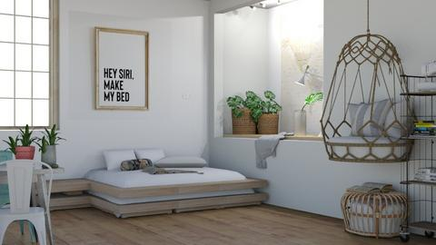 SIRI - Modern - Bedroom  - by matildabeast