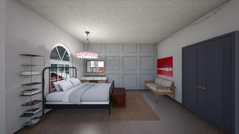 fall bedroom  - Bedroom  - by seejadeclimb